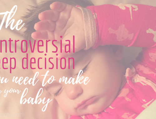 The controversial sleep decision you need to make for your baby
